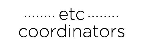 ETC Coordinators
